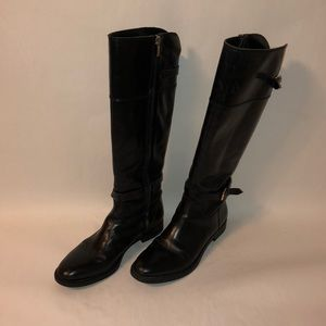 Enzo angioloni leather riding boots